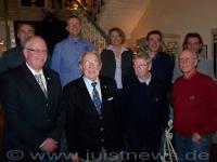 Bild 0 von Siebzehn Mitglieder für langjährige Treue ausgezeichnet