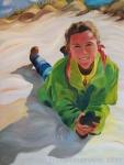 Bild 3 von Diesjährige Kunstausstellung enthält ausschließlich Bilder von Juist