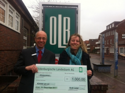 """Bild 0 von Die Oldenburgische Landesbank unterstützt """"Kinner un Lü"""""""