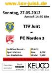 Bild 0 von TSV Juist gegen FC Norden