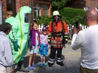 Bild 8 von Musikverein konnte beim Tag der offenen Tür der Feuerwehr nicht spielen