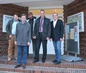 Bild 0 von Juister Bürgermeister Patron empfängt SPD-Landtagskandidaten
