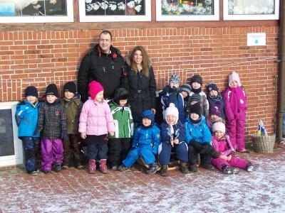 """Bild 0 von """"Pier 85""""-Betreiberpaar übergab Spende an Kindergarten"""