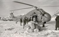 Bild 0 von Im Eiswinter vor 50 Jahren sicherten Hubschrauber die Inselversorgung
