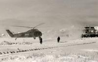 Bild 1 von Im Eiswinter vor 50 Jahren sicherten Hubschrauber die Inselversorgung