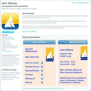 Bild 0 von Neues Update der JUIST-STIFTUNGS App