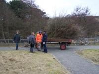 Bild 1 von Zwei Wagen Buschwerk beim Frühjahrsputz