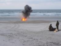 Bild 2 von Marinemunition wurde am Loogster Strand gesprengt