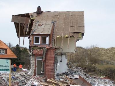 """Bild 0 von Ehemalige Pension """"Seefalke"""" wurde jetzt abgerissen"""