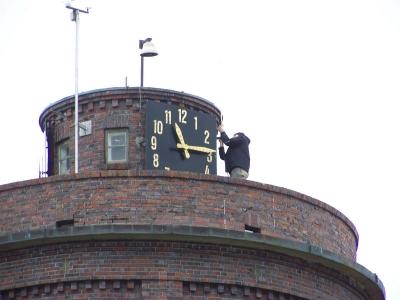 Bild 0 von Arbeiten in luftiger Höhe auf dem Wasserturm