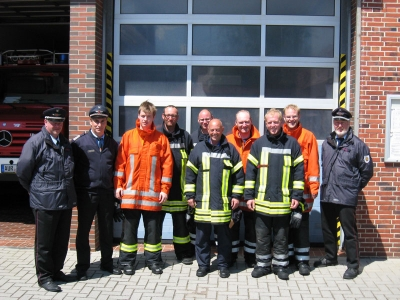 Bild 0 von Feuerwehr Juist hat sieben neue Maschinisten