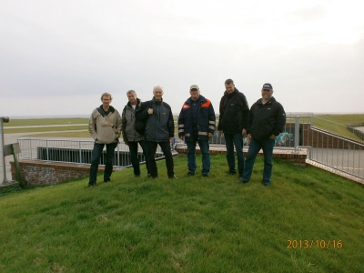 Bild 0 von Überprüfung der Küstenschutzanlagen auf Juist / Insel für Sturmfluten gerüstet