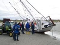 Bild 3 von Toter am Kalfamer war Eigner der gestrandeten Yacht