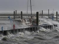 Bild 0 von Orkan richtete auf Juist viel Schaden an
