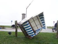 Bild 4 von Orkan richtete auf Juist viel Schaden an