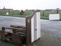 Bild 5 von Orkan richtete auf Juist viel Schaden an