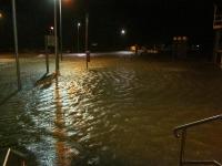 Bild 1 von Nächtliches Hochwasser ist überstanden