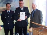 Bild 1 von Ehrungen für Feuerwehr und Juist-Stiftung