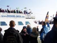 Bild 7 von 3.500 Inselflaggen schmückten Borkum zum Inseltreffen