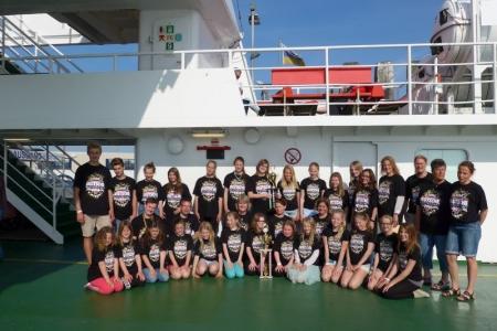 Bild 0 von Juister Tänzerinnen sehr erfolgreich bei der Deutschen Meisterschaft in Riesa
