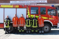 Bild 0 von Feuerwehrmänner haben Fahrschule erfolgreich absolviert