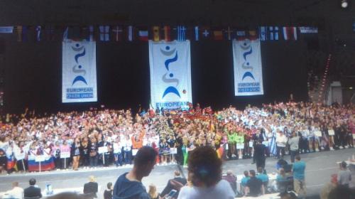 Bild 0 von Juister HipHop-Cheerdancer auf der Europameisterschaft der ECU in Bonn