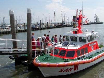 Bild 0 von Auch Juist beging den Tag der Seenotretter