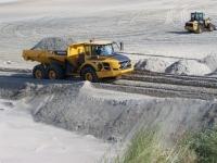 Bild 6 von Sandtransporte am Hammersee sind im vollen Gange