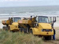 Bild 7 von Sandtransporte am Hammersee sind im vollen Gange