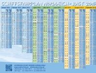 Bild 0 von Der Fährplan 2015 (Frisia-Edition) ist da!!!