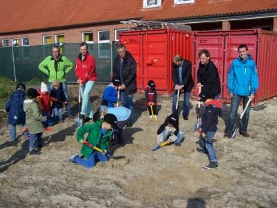 Bild 0 von Winterzeit ist Bauzeit: 1. Teil – Baubeginn neuer Kindergarten