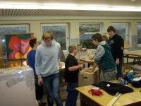 Bild 2 von Juister Schüler brachten 23 Kartons mit Sachspenden auf den Weg