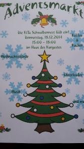 """Bild 0 von KiTa """"Schwalbennest"""" veranstaltet Adventsmarkt"""