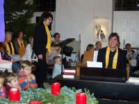 Bild 5 von Mehr als zweihundert Teilnehmer beim Adventssingen dabei