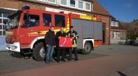 Bild 0 von Freiwillige Feuerwehr Juist erhält mobilen Rauchverschluss
