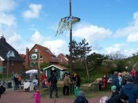 Bild 4 von Schützenverein bewachte in diesem Jahr den Maibaum der Insel