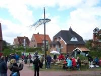 Bild 5 von Schützenverein bewachte in diesem Jahr den Maibaum der Insel