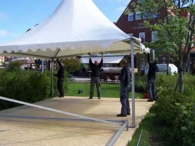 """Bild 0 von Vorbereitung für """"16. Juister Musikfestival"""" laufen auf Hochtouren"""