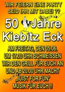 """Bild 0 von Das """"Kiebitz-Eck"""" im schönen Loog wird 50 Jahre alt"""