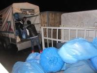 Bild 1 von Mehr als 70 Säcke mit Spendenwaren konnten übergeben werden
