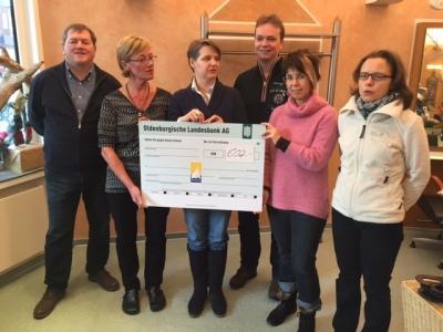 Bild 0 für Förderkreis Inselschule erhielt Spende vom Juist-Stiftung