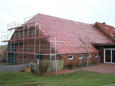 """Bild 0 für Die """"Domäne Bill"""" erhält ein neues Dach"""