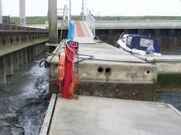 Bild 1 von Juister Bootshafen ist tief wie seit Jahren nicht mehr