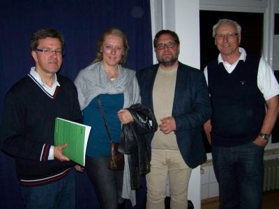 Bild 0 von Grünen-Politiker Peter Meiwald besuchte Insel Juist
