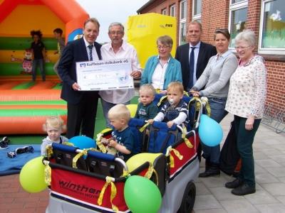 Bild 0 von Neuer Juister Kindergarten wurde nun offiziell eingeweiht