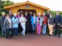 Bild 0 von CDU-Frauenvereinigung spendete Wetterschutzhäuschen an der Billstraße