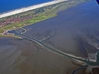 Bild 5 von Aktuelle Luftbilder vom Juister Watt und dem Hafen