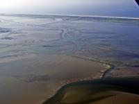 Bild 6 von Aktuelle Luftbilder vom Juister Watt und dem Hafen