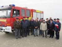 Bild 0 von Ehemalige Feuerwehrmänner besuchten Westspitze der Insel