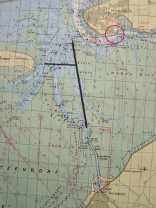Bild 0 von Das Fahrwasser nach Norddeich verläuft nun weiter östlich